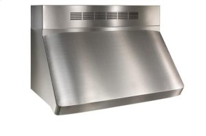"Centro - 36"" Stainless Steel Pro-Style Range Hood with internal/external blower options"