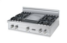"36"" Sealed Burner Rangetop, Natural Gas"