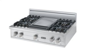 "36"" Sealed Burner Rangetop, Propane Gas"