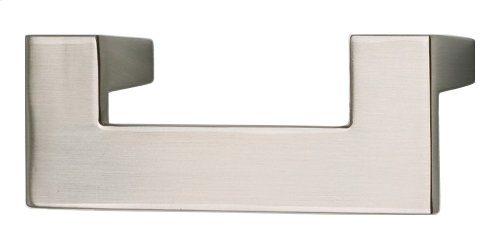 U Turn Pull 2 1/2 Inch (c-c) - Brushed Nickel