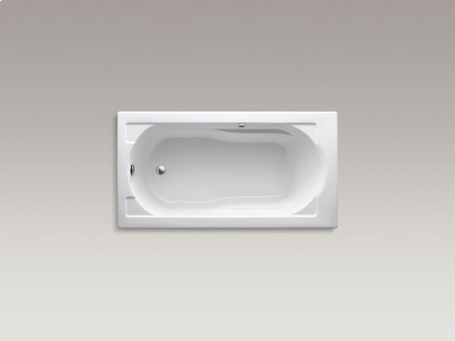 "Sandbar 60"" X 32"" Drop-in Bath With Bask Heated Surface and Reversible Drain"