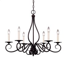 Oxford 6 Light Chandelier