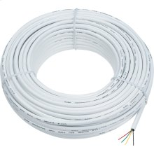 100 foot station wire in white color