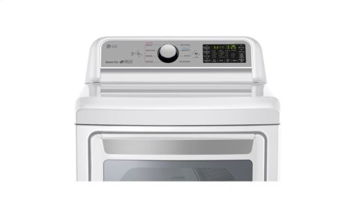 7.3 cu. ft. Smart wi-fi Enabled Gas Dryer w/ Sensor Dry Technology