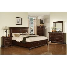 Canton Cherry Storage Bed