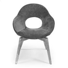 Occasional Contemporary Chair Frm,Fabric