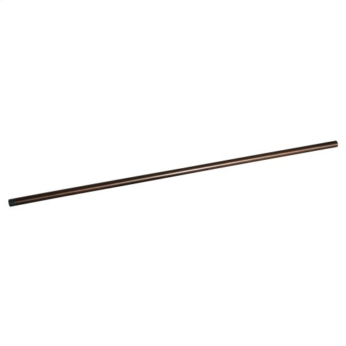 "Shower Rod Ceiling Support - 48"" - Oil Rubbed Bronze"