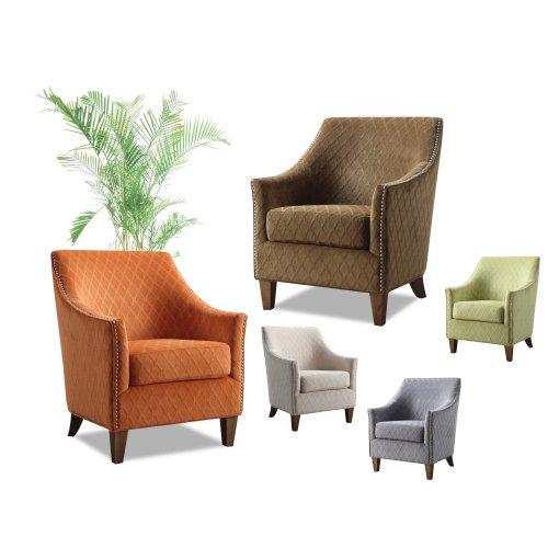 Emerald Home Kismet Accent Chair Wembley Lime U3721-05-08