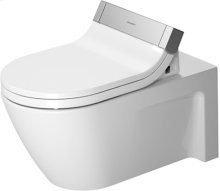 White Starck 2 Toilet Wall-mounted For Sensowash®