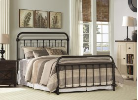 Kirkland Bed Set - Twin - Dark Bronze