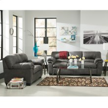 Signature Design by Ashley Bladen Living Room Set in Slate Faux Leather [FSD-1209SET-SLA-GG]
