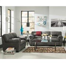 Signature Design by Ashley Bladen Living Room Set in Slate Faux Leather [FSD-1209SET-SLA-GG]