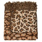 """Throw Sz005 Brown/beige 50"""" X 70"""" Throw Blankets Product Image"""