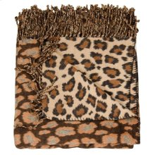 "Throw Sz005 Brown/beige 50"" X 70"" Throw Blankets"
