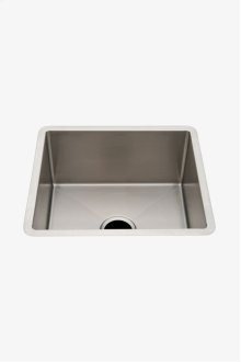 "Kerr 19 3/4"" x 17 3/4"" x 9 1/2"" Stainless Steel Kitchen Sink with Center Drain STYLE: KRSK10"