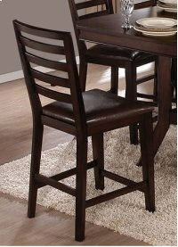 Counter Chair (2 per carton) - Espresso Finish Product Image