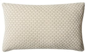 SWEET KNIT PILLOW - Natural / Stone