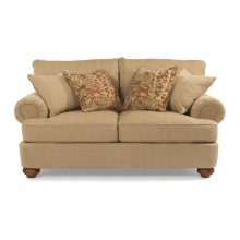 Patterson Fabric Loveseat without Nailhead Trim