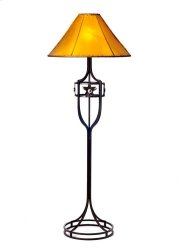 Iron Floor Lamp No Shade Product Image