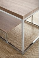"""Lucia Chairside End Table 18""""x10""""x25"""" Product Image"""