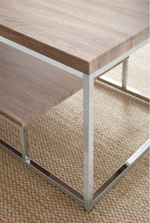 "Lucia End Table, 24""x24""x23"""