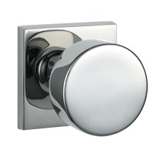 QUADRATO MODERNO 04 KNOB - Satin Nickel