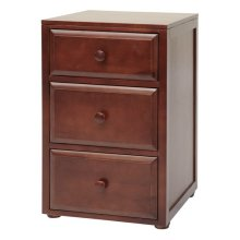 3 1/2 Drawer Dresser : Chestnut