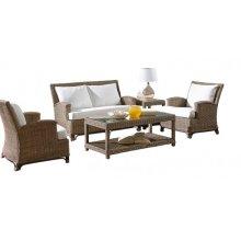 Exuma 6 PC Dining Set w/beige cushions
