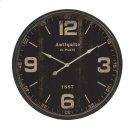Robertson Black Wall Clock Product Image