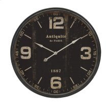 Robertson Black Wall Clock