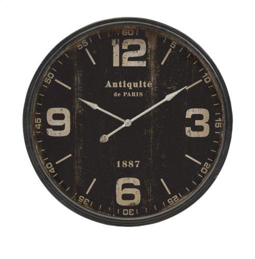 Robertson Black Wall Clock