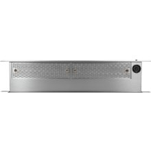 "Modernist 30"" Downdraft for Ranges, Silver Stainless Steel"