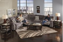 Reclining Console Loveseat w/Stor & Cuphol - Coffee