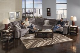 Reclining Console Loveseat w/Stor & Cuphol - Granite