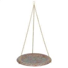 Oak Leaf Bird Bath Bowl - Copper Vedigris