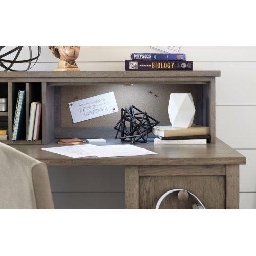 Study Hall Desk Hutch