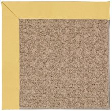 Creative Concepts-Grassy Mtn. Canvas Canary Machine Tufted Rugs