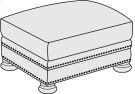 Foster Ottoman in Molasses (780) Product Image