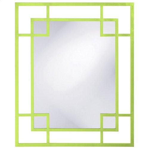 Lois Mirror - Glossy Green