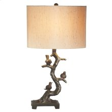 Birds in Tree Lamp. 60W Max.