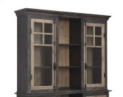 Emerald Home Barcelona Hutch With Light Natural & Brown D551-65 Product Image
