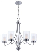 Mod 5-Light Chandelier