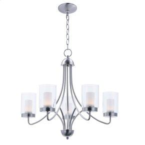 Mod 5-Light LED Chandelier