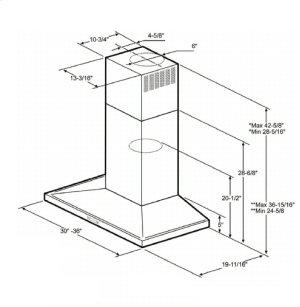 Optional Long Chimney Extension Kit