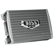 "Armor 1200W 2 Channel Full Range, Class A/B Amplifier Dimensions 10.24""L 6.5""W 2.8""H"