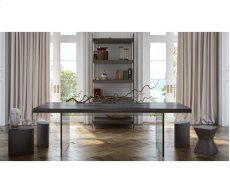 Berlin Pine and Lucite Dining Table Product Image