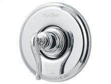 Polished Chrome Ashfield Valve, Trim Only