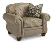 Bexley Two-Tone Fabric Chair without Nailhead Trim