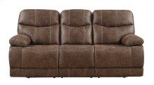Emerald Home Earl Motion Sofa Sanded Micro Brown U7128-00-15