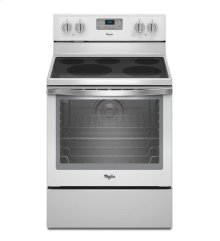 6.4 Cu. Ft. Freestanding Electric Range With Aqualift® Self-cleaning Technology [OPEN BOX]